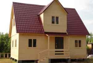 проект деревянного дома 7*9 м